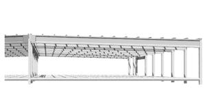 Sistema de cubierta Jácena